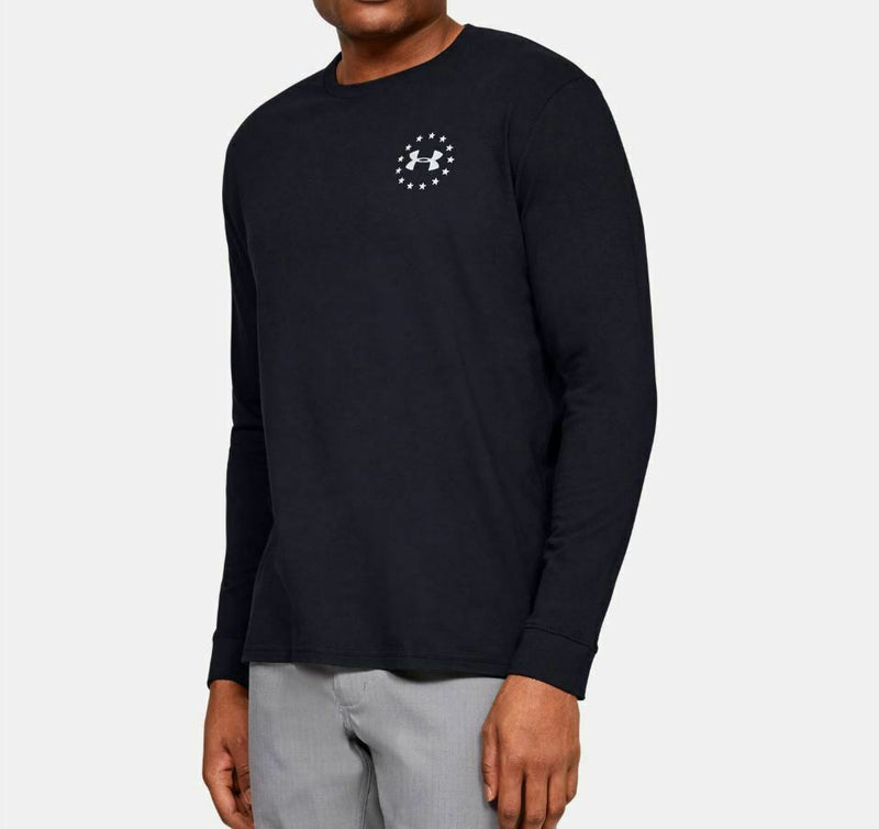 Under Armour Men's UA Freedom New Flag Long Sleeve - Black/Steel
