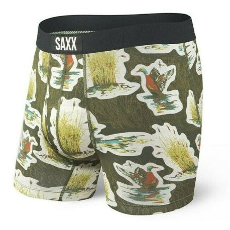 SAXX Ultra Boxer Brief - Green Duck Camo