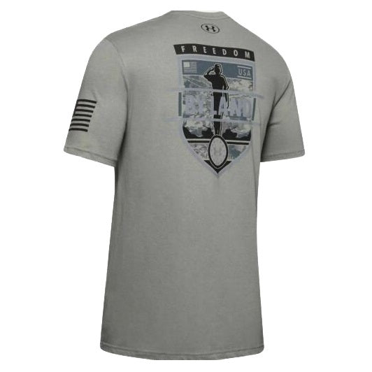 Under Armour Men's UA Freedom By Land Graphic T-Shirt - Gravity Green