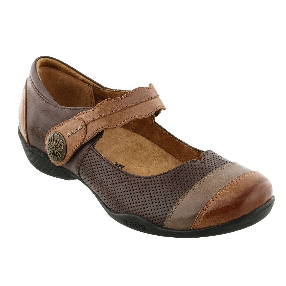 Women's Taos Bravo Mary Jane - Whiskey Multi