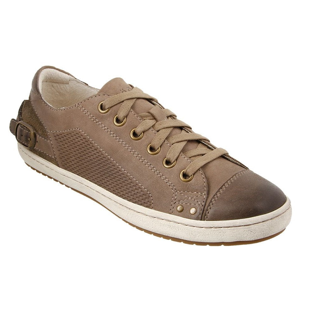 Women's Taos Capitol Sneaker - Taupe Oiled