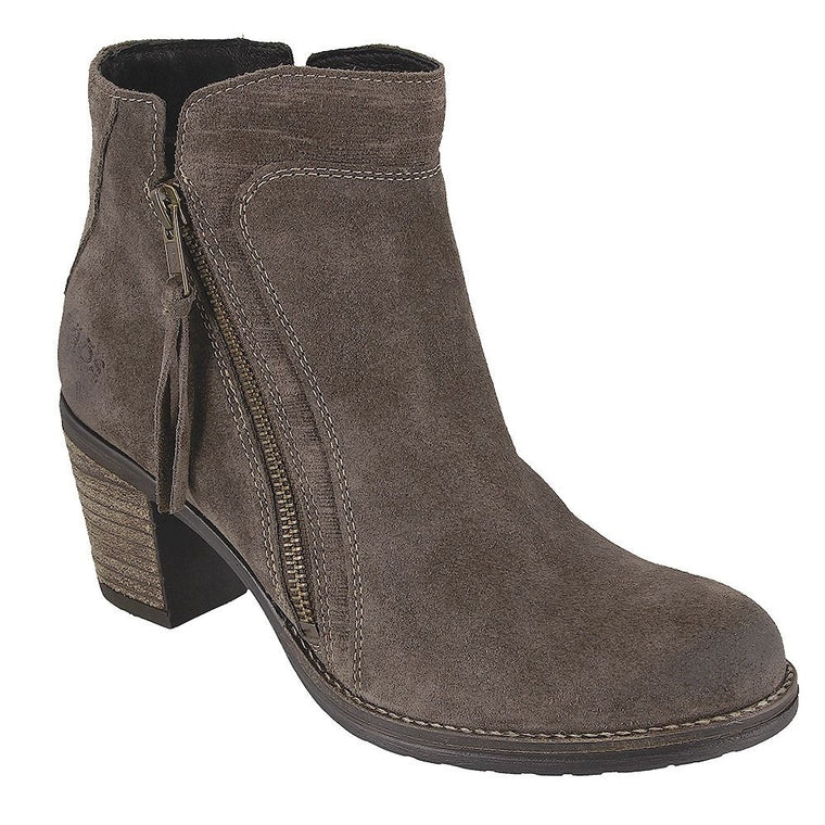 Women's Taos Dillie Boot - Dark Taupe Suede