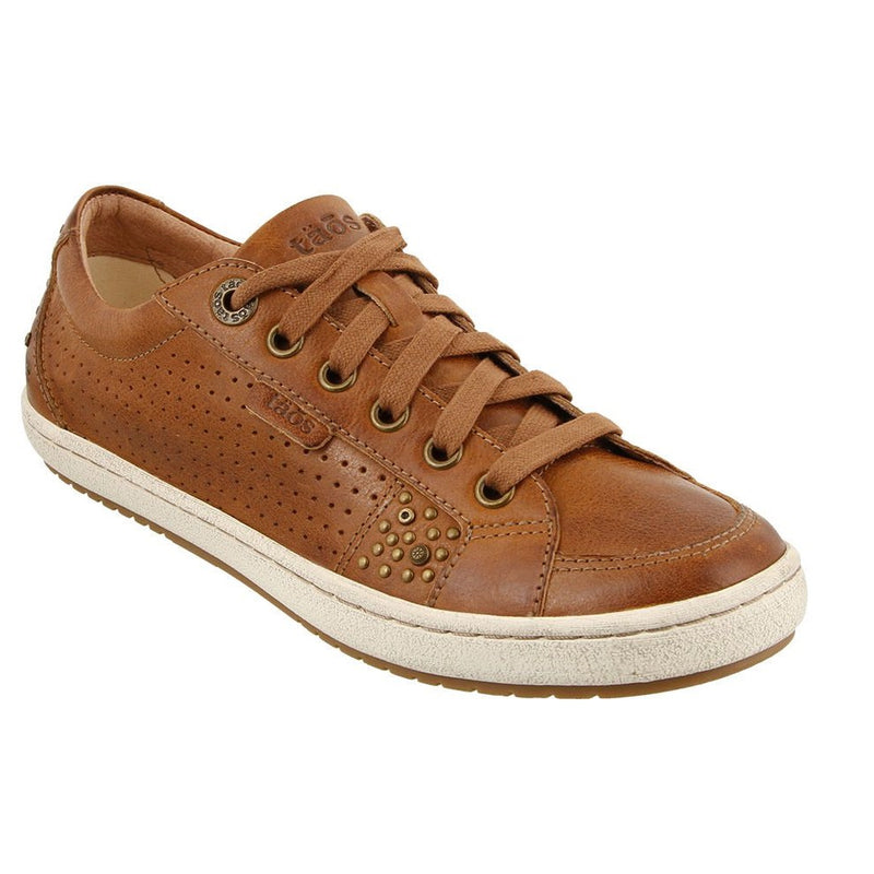 Women's Taos Freedom Leather Sneaker - Hazelnut