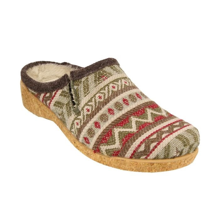 Taos Women's Kick Off Clog - Olive Multi