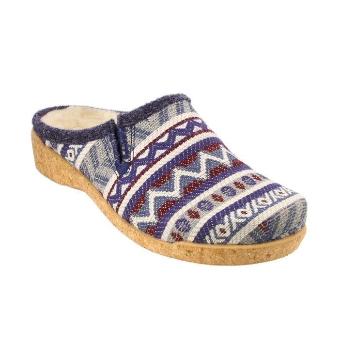 Taos Women's Kick Off Clog - Blue Multi