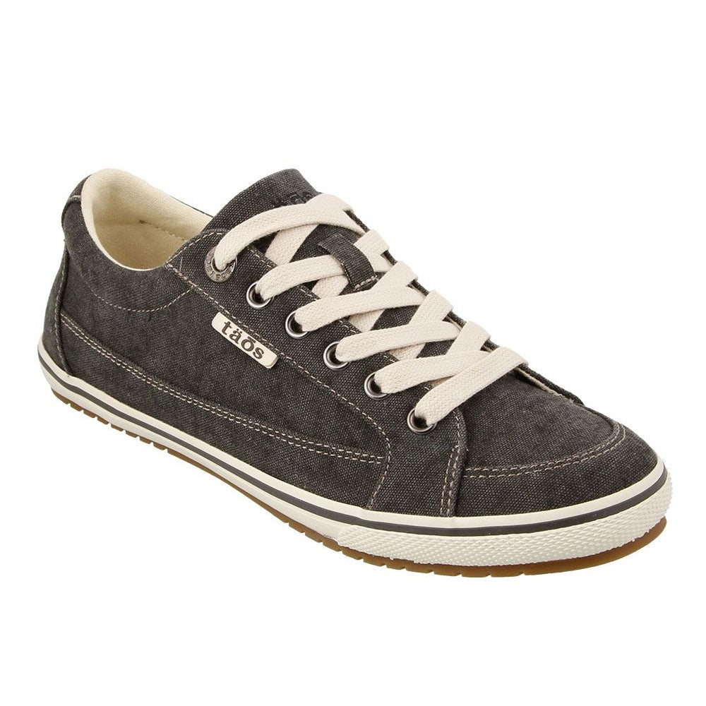 Women's Taos Moc Star Sneaker - Charcoal Wash