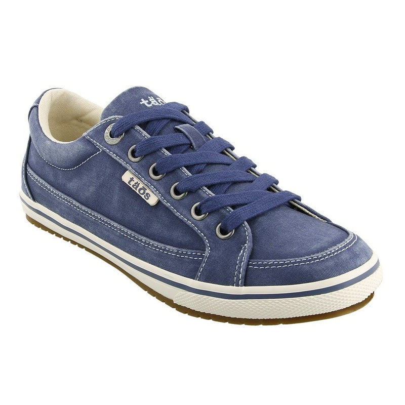 Women's Taos Moc Star Sneaker - Indigo Distressed