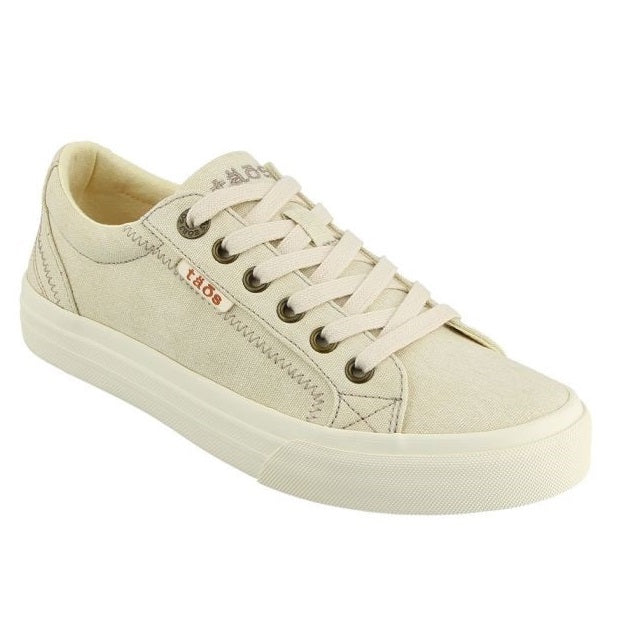 Women's Taos Plim Soul Sneaker - Beige Wash Canvas