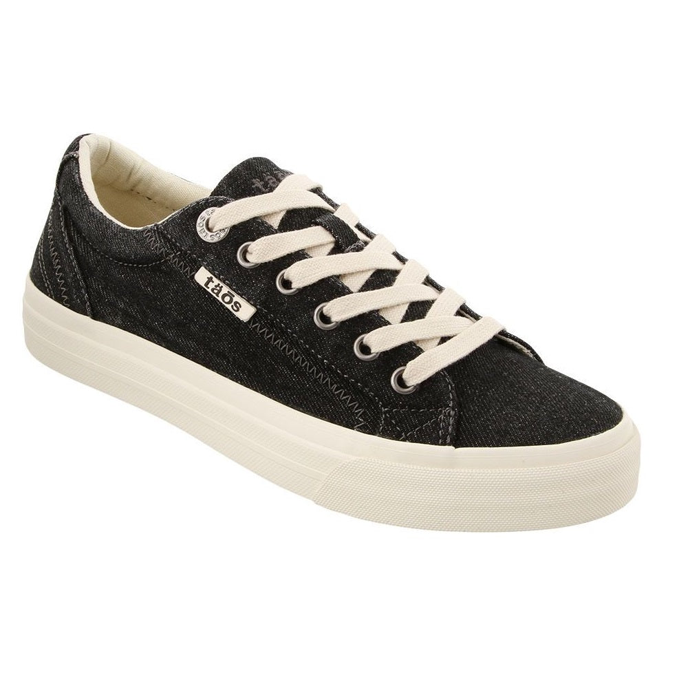 Women's Taos Plim Soul Sneaker - Black Denim