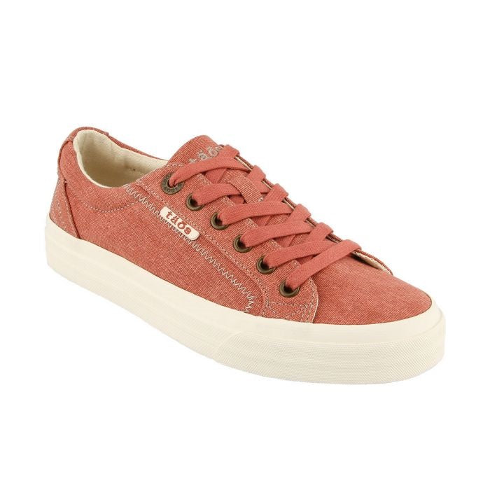 Women's Taos Plim Soul Sneaker - Terracotta Wash Canvas