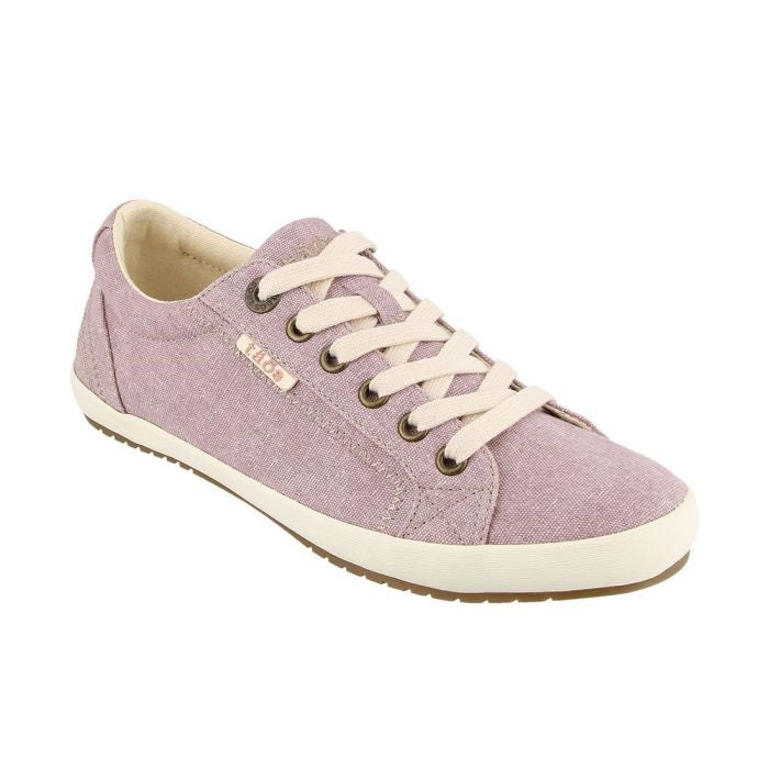 Women's Taos Star Sneaker - Mauve Wash Canvas