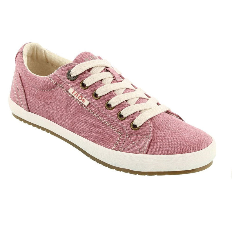 Women's Taos Star Sneaker - Rose Wash Canvas