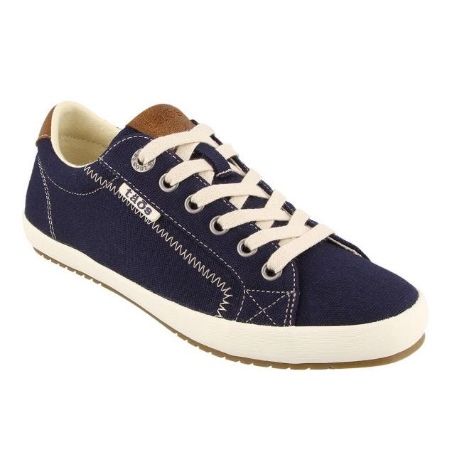 Women's Taos Star Burst Sneaker - Navy/Tan