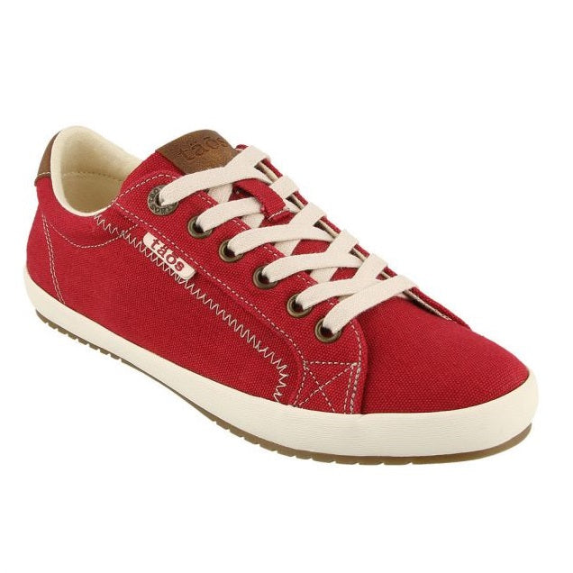 Women's Taos Star Burst Sneaker - Red/Tan