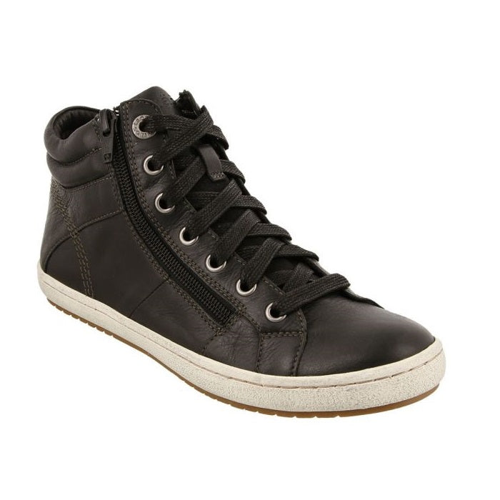 Taos Women's Union High Top Sneaker - Black