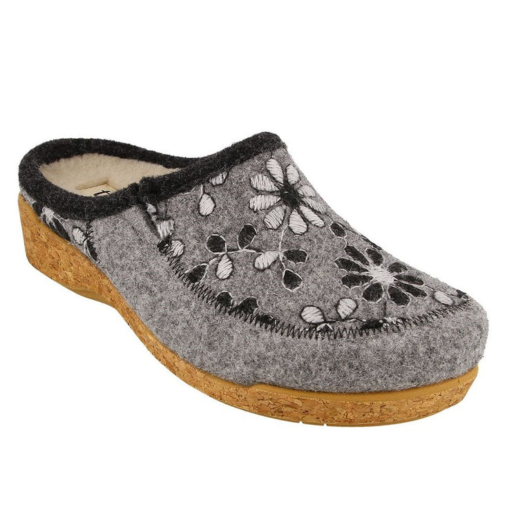 Taos Women's Woolderness 2 Clog - Grey