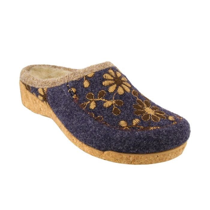Taos Women's Woolderness 2 Clog - Navy