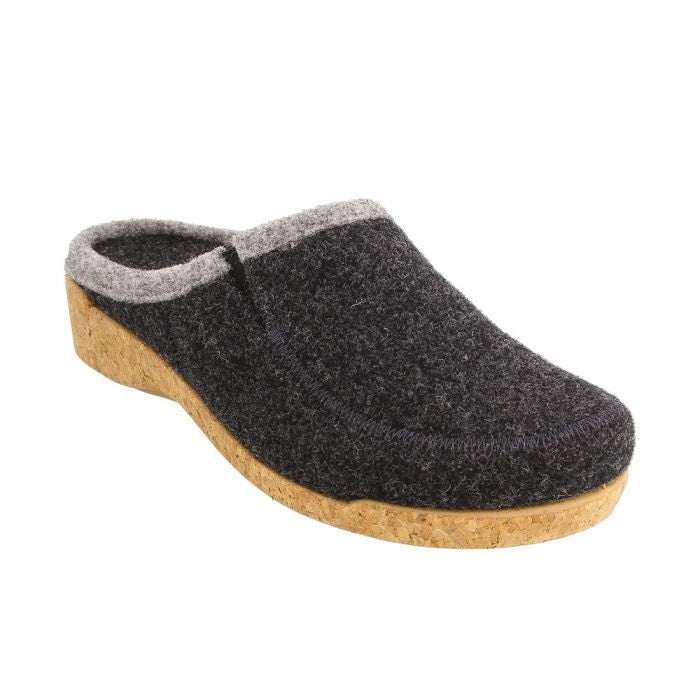 Taos Women's Wool Do Clog - Charcoal