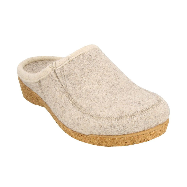 Women's Taos Wool Do Clog - Stone