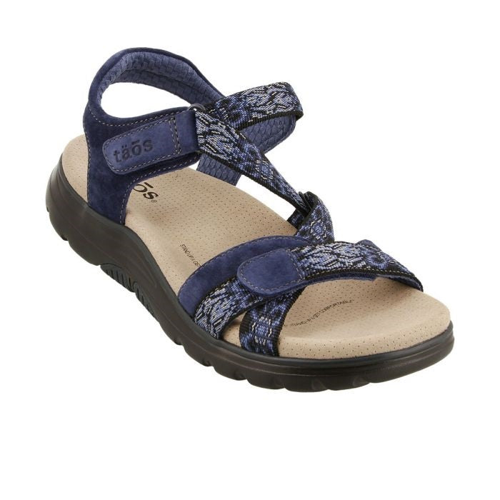 Women's Taos Zen Sandal - Navy/Blue