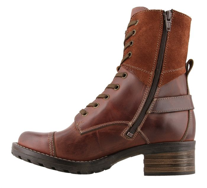Taos Women's Crave Lace-Up Boot - Brunette