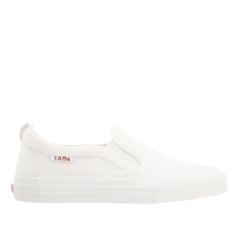 Taos Women's Rubber Soul Slip On Sneaker - White
