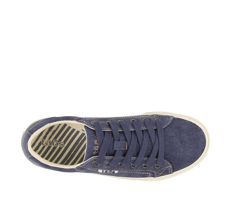 Taos Women's Plim Soul Sneaker - Blue Wash Canvas