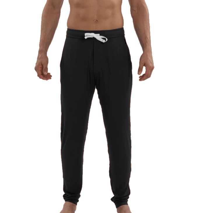 SAXX Men's Snooze Pant Lounge Pant - Black