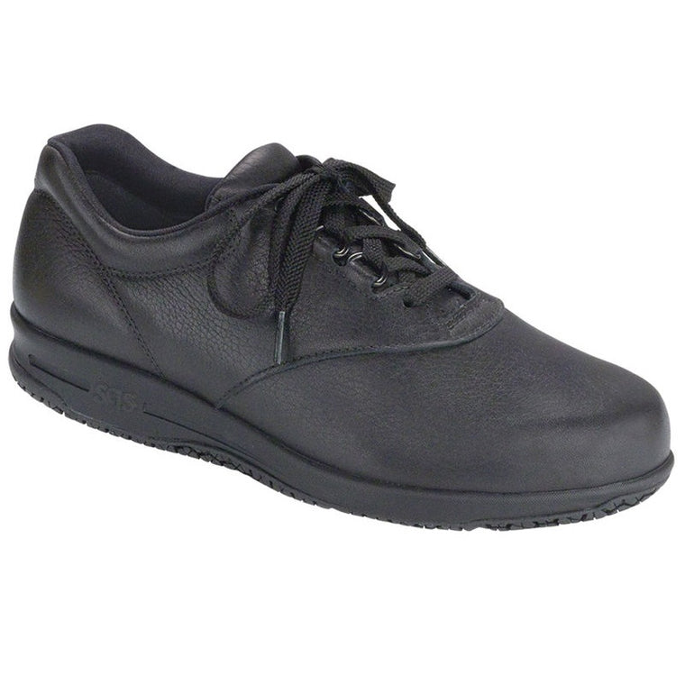 SAS Women's Liberty Non Slip Lace Up Shoe - Black