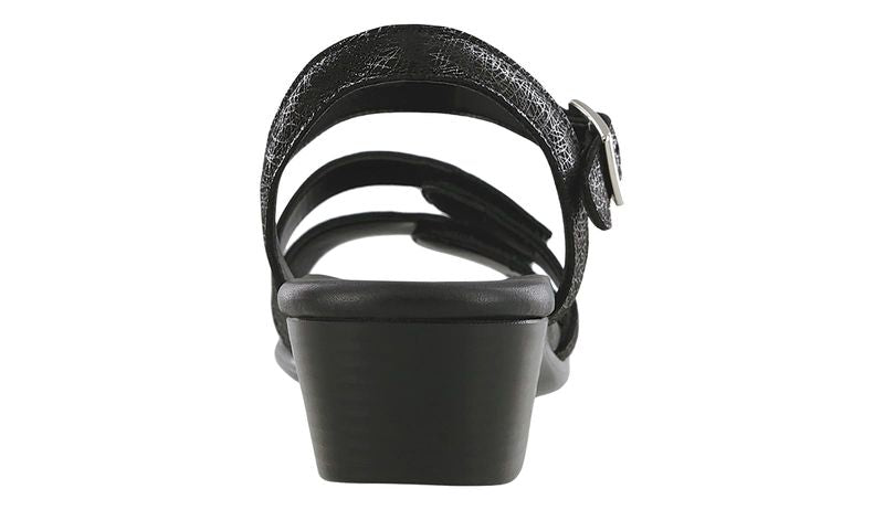 Women's SAS Savanna Heel Strap Sandal - Web Black