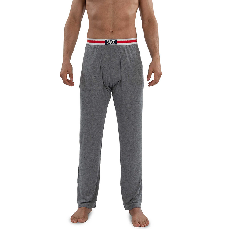 SAXX Men's Sleepwalker Pant Lounge Pant - Gray Sock Monkey