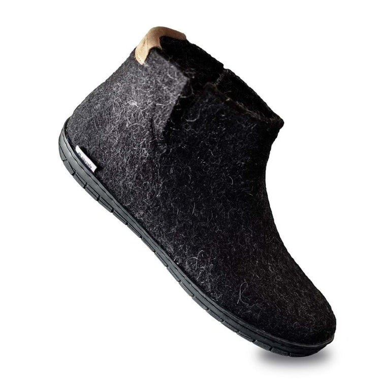 Glerups The Boot 25 Limited Edition - Charcoal/Black Rubber