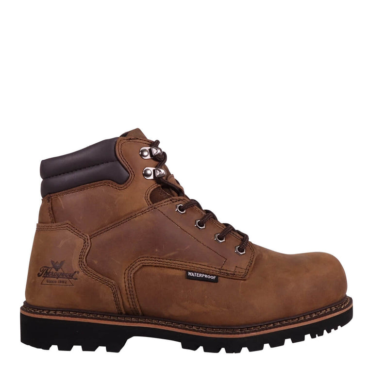 Thorogood Men's 804-3236 V-Series Wtpf Safety Toe Work Boots - Brown