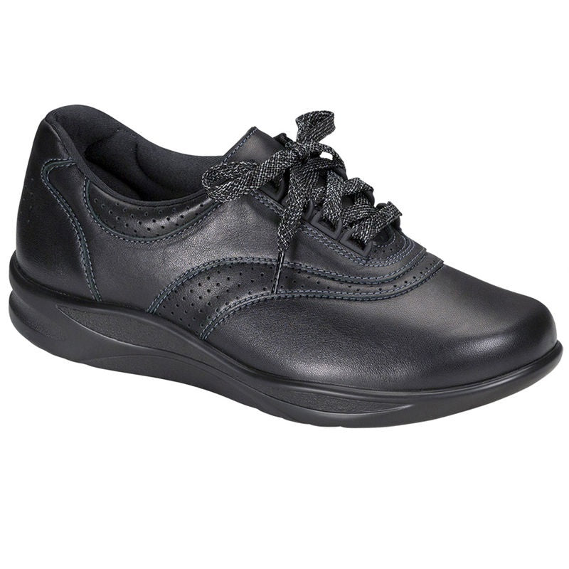 SAS Women's Walk Easy Walking Shoe - Black