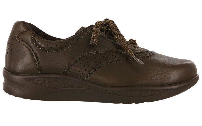 Women's SAS Walk Easy Walking Shoe - Coffee