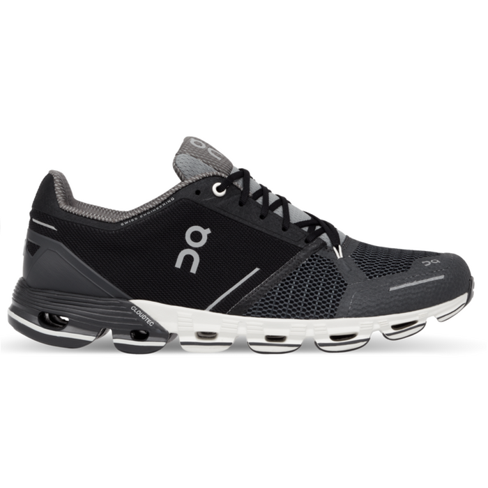 Women's On Cloudflyer Running Shoes - Black/White