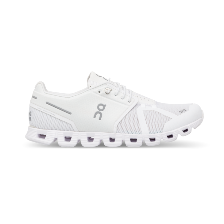 On Women's Cloud Running Shoes - All White