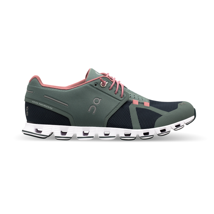 Women's On Cloud Running Shoes - Sea/Stone