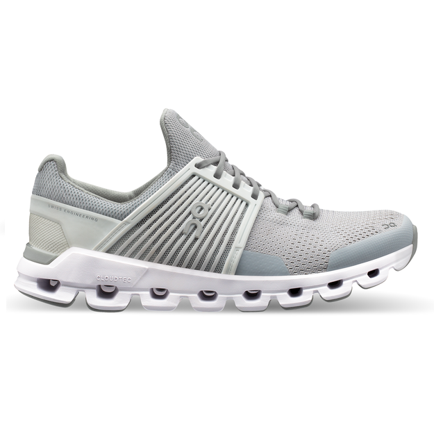 On Women's Cloudswift Running Shoes - Glacier/White