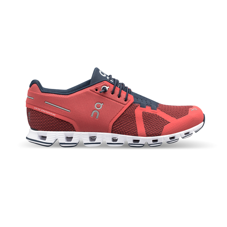 Women's On Cloud Running Shoes - Coral/Pacific