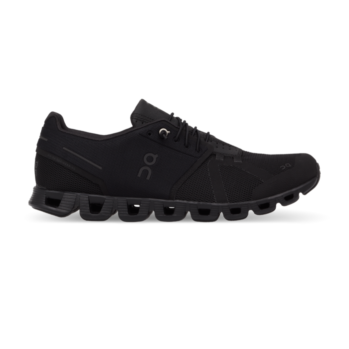 On Women's Cloud Running Shoes - All Black