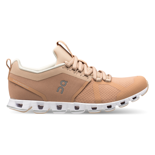 Women's On Cloud Beam Running Shoes - Blush/Nude