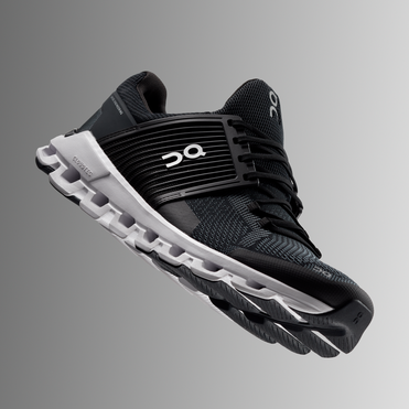 On Women's Cloudswift Running Shoes - Black/Rock