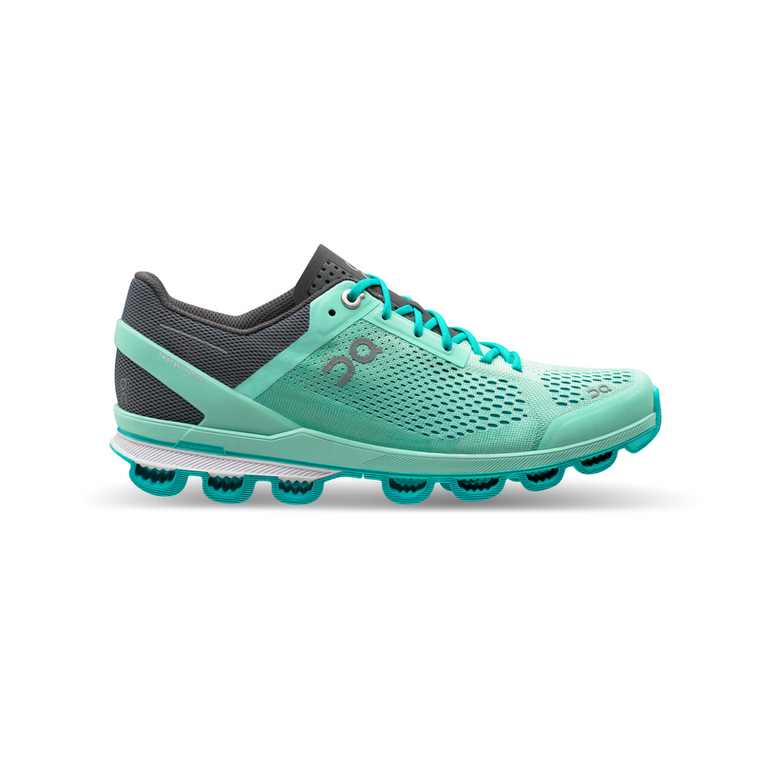 Women's On Cloudsurfer Running Shoes - Fountain/Azure