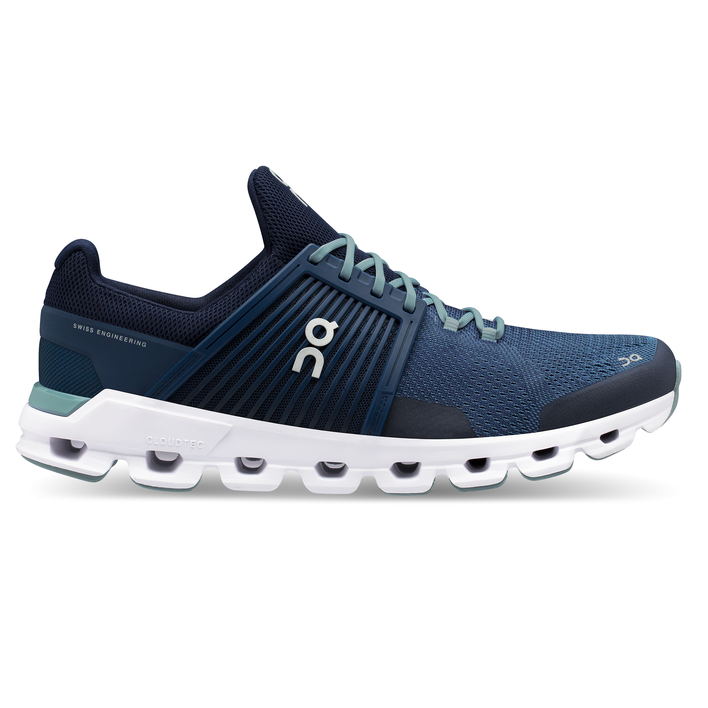 Men's On Cloudswift Running Shoes - Denim/Midnight