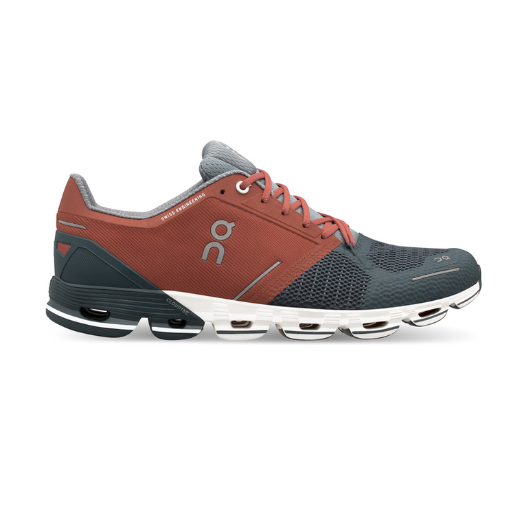 Men's On Cloudflyer Running Shoes - Rust/Stone
