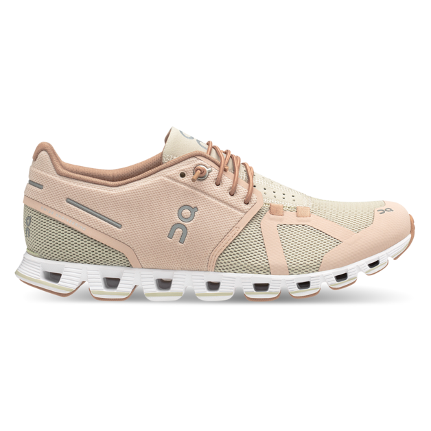 Women's On Cloud Running Shoes - Rose/Sand