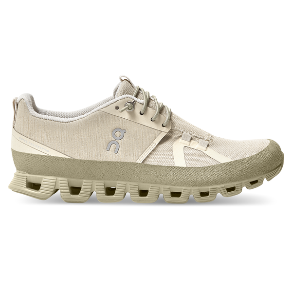 On Women's Cloud Dip Shoes - Hay/Leaf