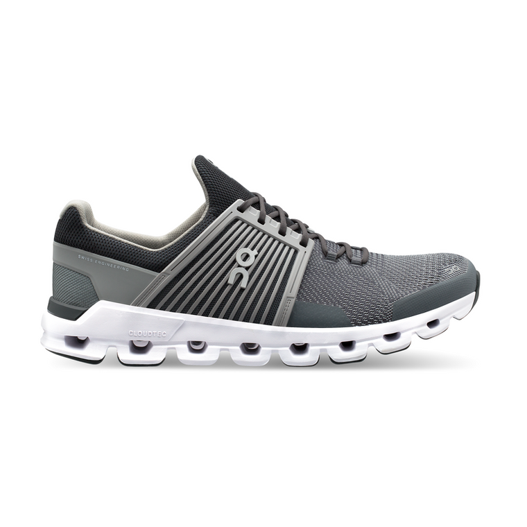 On Men's Cloudswift Running Shoes - Rock/Slate