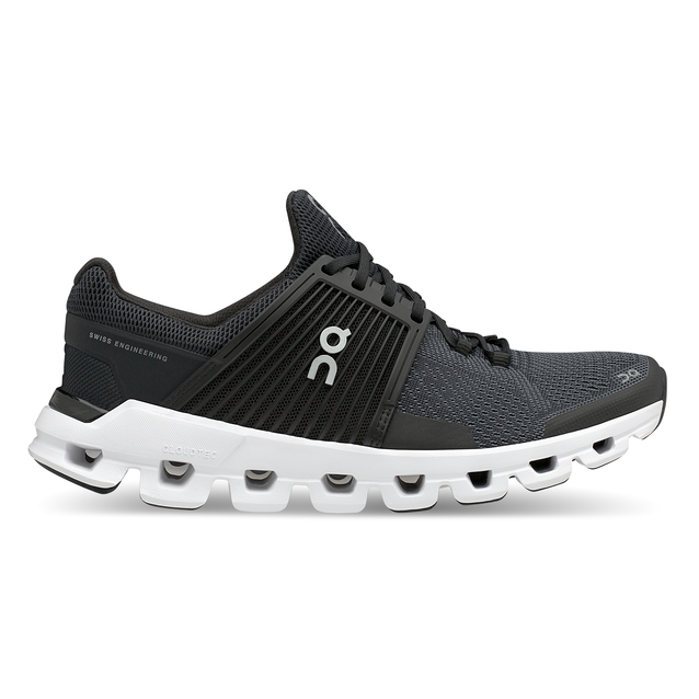 Women's On Cloudswift Running Shoes - Black/Rock